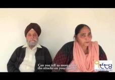 Davinder Kaur and Tek Singh